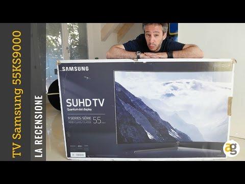 Samsung Quantum Dot TV UE55KS9000 la recensione