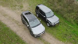 Land Rover Discovery vs Kia Sorento