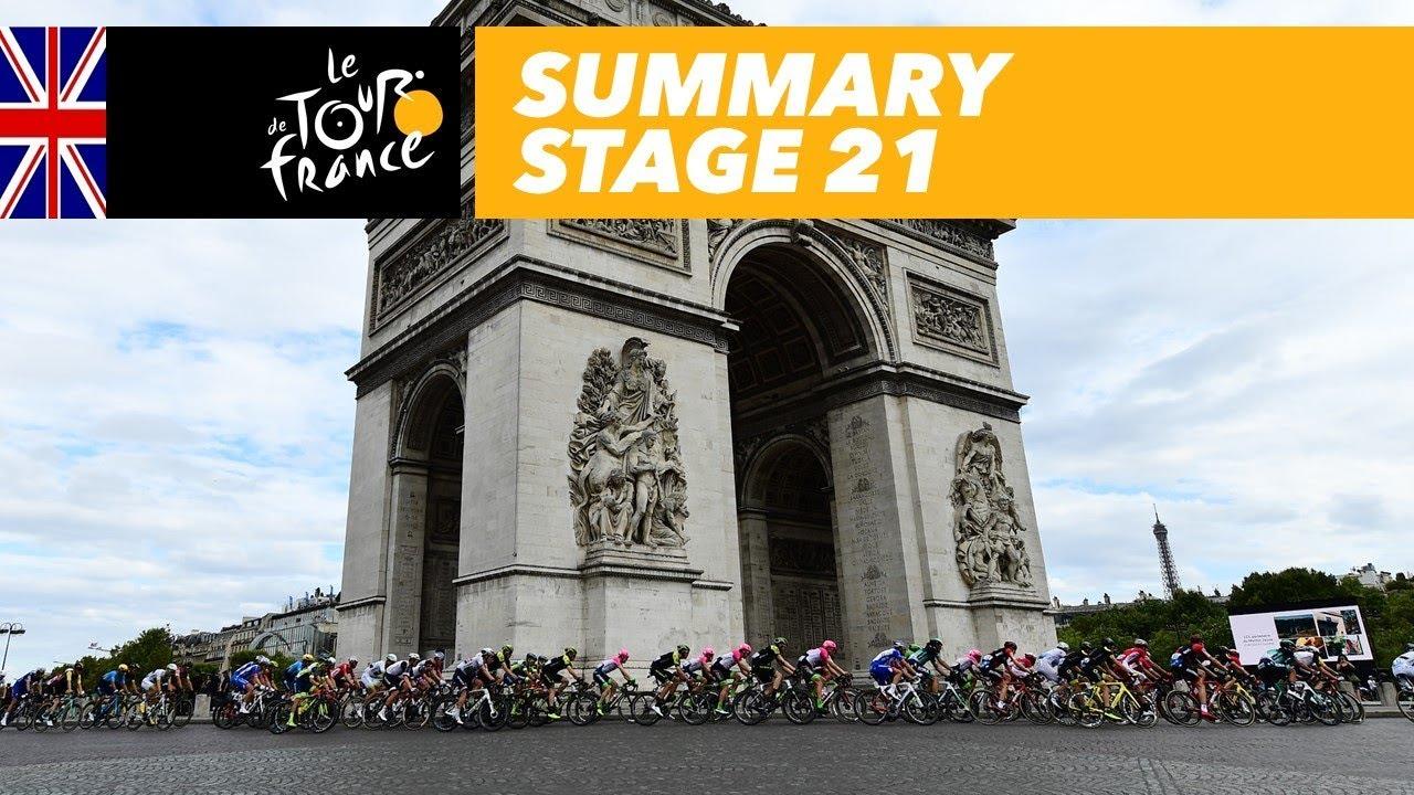 Summary - Stage 21 - Tour de F...