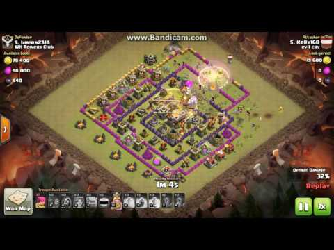 Clash of Clans clan evil CRY town 10 vs town11 ***3