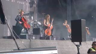 Apocalyptica - One (Metallica cover) @ Tuska 2.7.2017