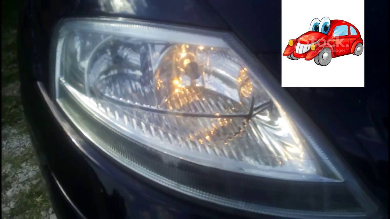 Citroen C3 How to change a headlight bulb kako zamijeniti sijalicu