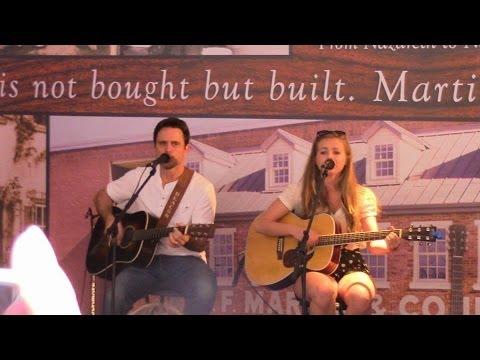 Chip Esten and his daughter performing Undermine at CMA Fest 2014