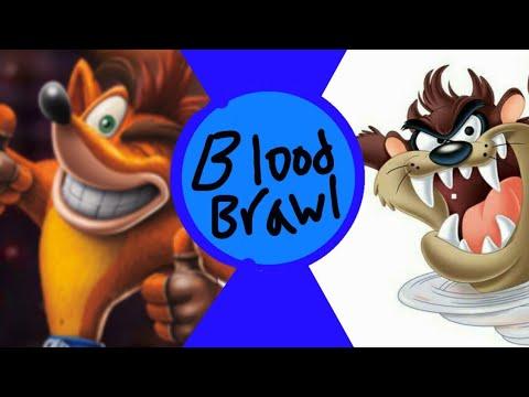 Crash bandicoot vs Tasmanian devil(Sony vs Looney tunes ...