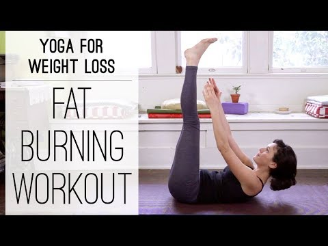 Yoga For Weight Loss - 40 Minute Fat Burning Yoga Workout!