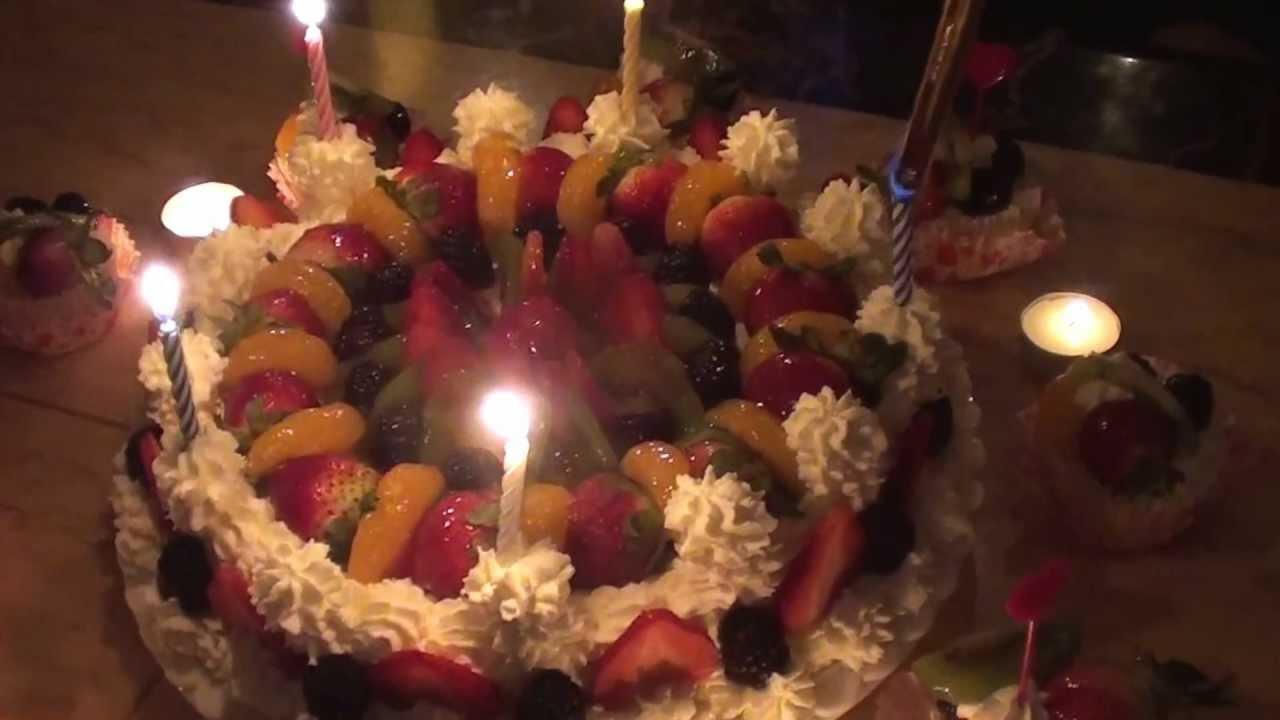 Family Jennys Beautiful Birthday Cake For Sidai Gans 31st