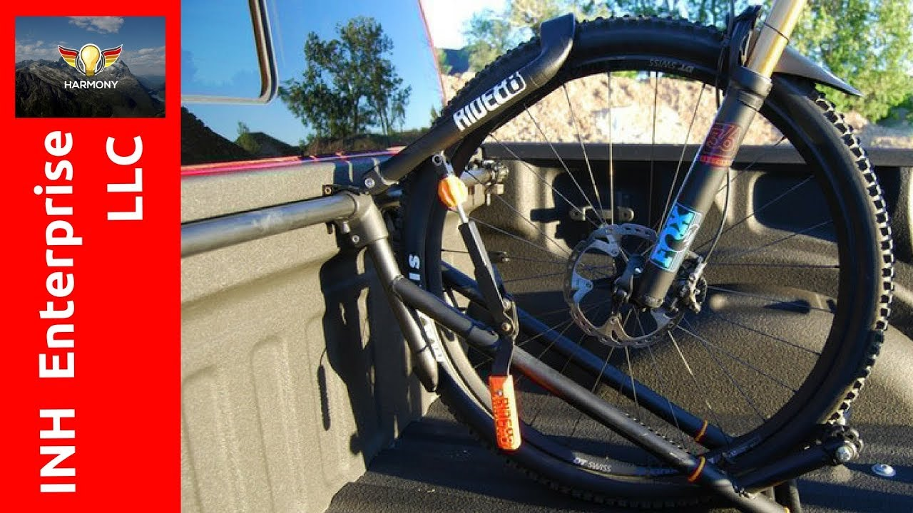 2 amazing truck bike rack invention ideas