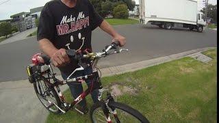 Honda CVT drive bike - crash