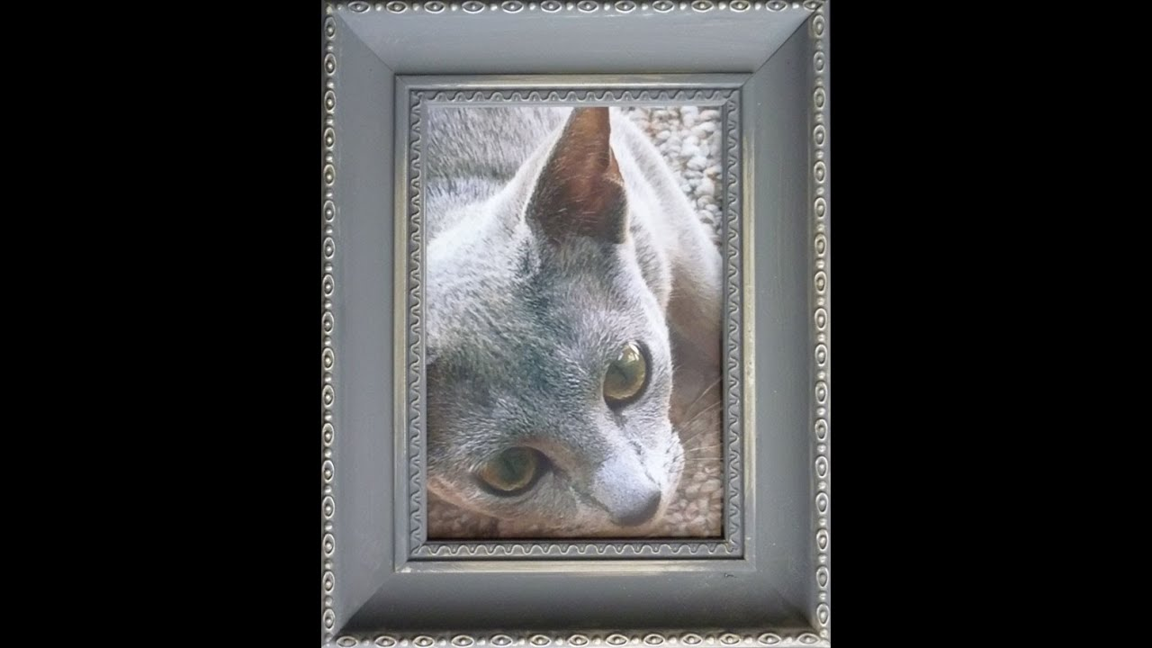 Chalk Paint Photo Frame - YouTube