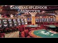 The Casino Area of the Carnival Splendor Cruise - YouTube
