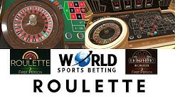 Online Roulette at World Sports Betting - 100% Legal in South Africa