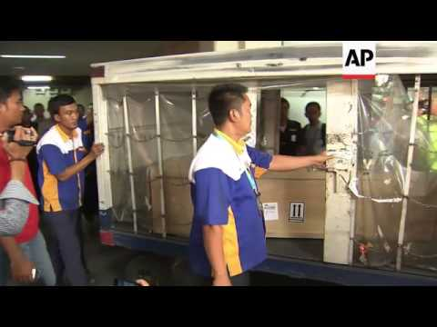 Bodies of two Indonesian citizens killed in Hong Kong arrive in Jakarta