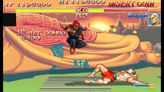Hyper Street Fighter 2 (ARC) Shin Akuma [4k] [TAS]