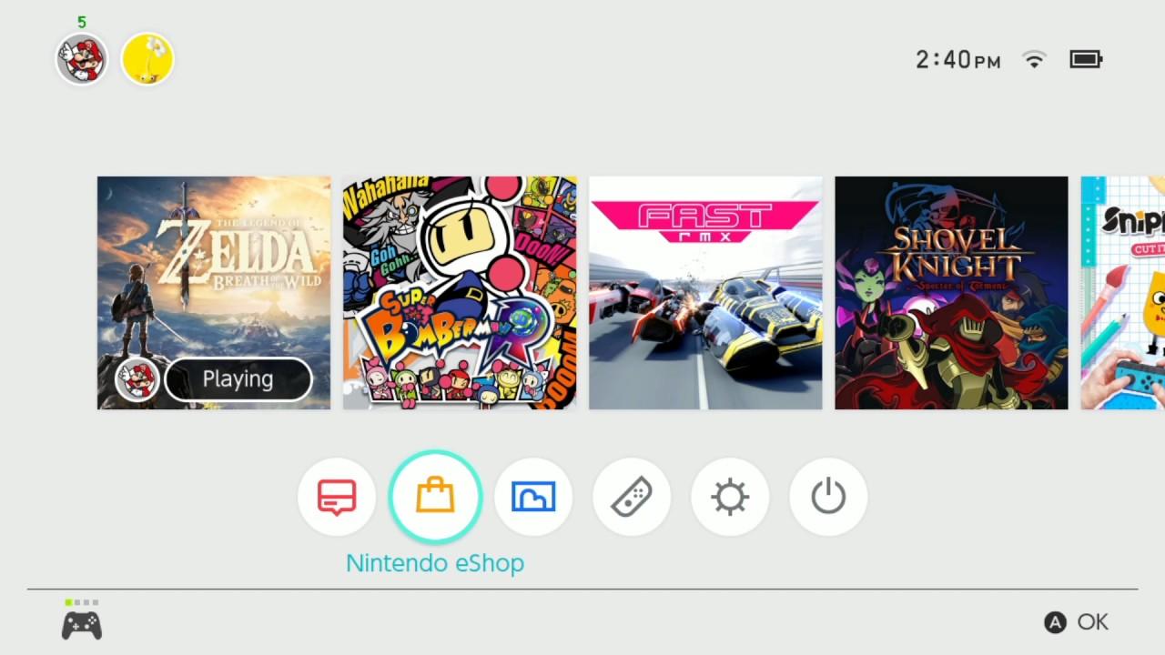 best nintendo switch eshop games