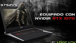 Review CNN: ROG G752VS el notebook gamer de alto rendimiento de Asus