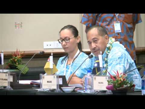 Leaders' response by the Minister for Natural Resources of Niue