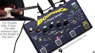 Boomerang Musical Products Boomerang Phrase III Looper