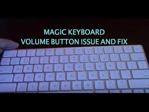 Magic Keyboard 2 Volume Button Issue