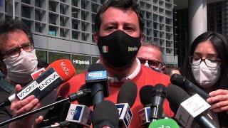 Salvini ironizza sui candidati sindaci del centrodestra: