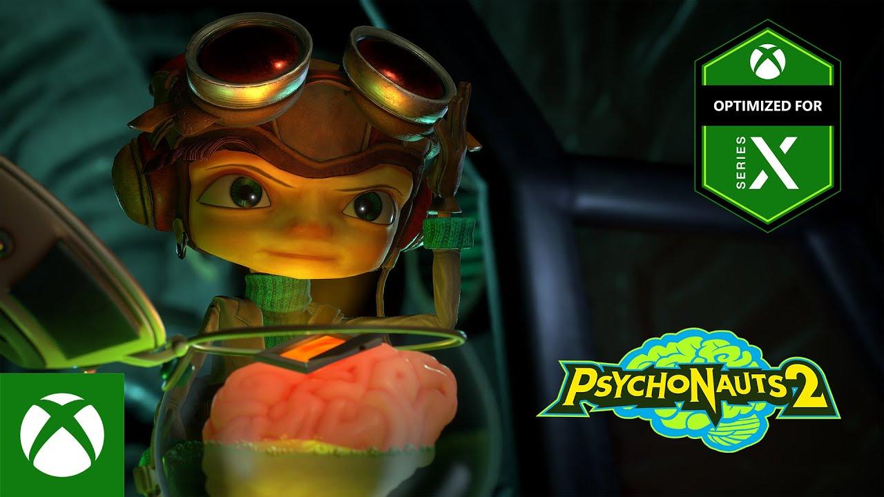 Psychonauts 2 - Gameplay Music Trailer
