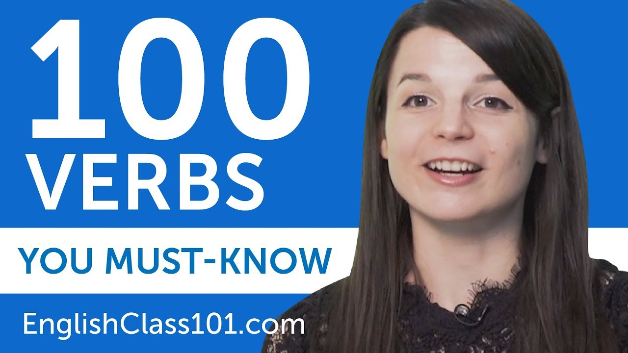 Download 100 Verbs Every English Beginner Must-Know