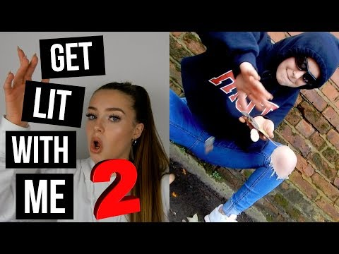 MY LIT MUSIC PLAYLIST 2 | GET LIT WITH ME 2 | 2017 | chloe h