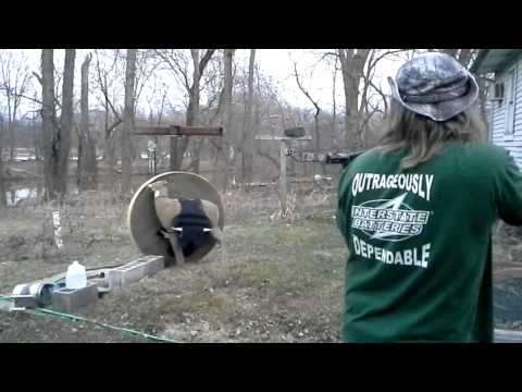 200lb crossbow vs bullet proof vest