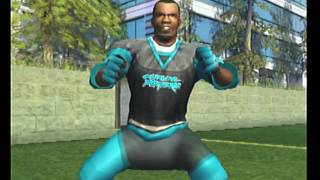 NFL Street 2 Panthers vs Chargers