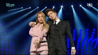 151227 [HD/Viewable] SHINee JongHyun-Déjà-Boo (ft.Wonder Girls-Yubin) @ 5B5 Gayo Daejun 2015