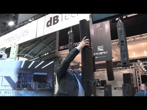 Musikmesse 2017 dB Technologies The new ES-Series Speakers Prolight+Sound (english)