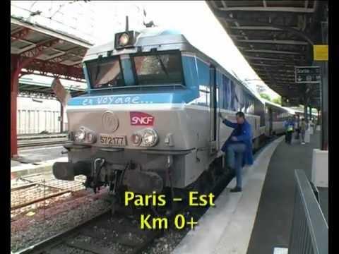 Locovision N° 11 : De PARIS-EST à MULHOUSE Avec La CC-72164