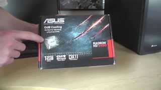 Asus ATI Radeon HD 5450 Silent - Unboxing Video & First Look [HD]
