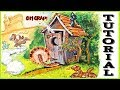 Watercolor Cartoon Step by Step Tutorial for Greeting Cards, to Increase your Art Show Profits!