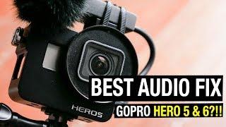 Best Audio Fix for GoPro Hero 5 and GoPro Hero 6 AND GoPro Hero 7!