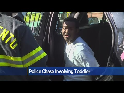 Man Leads Sacramento Police On Chase With Toddler In Lap