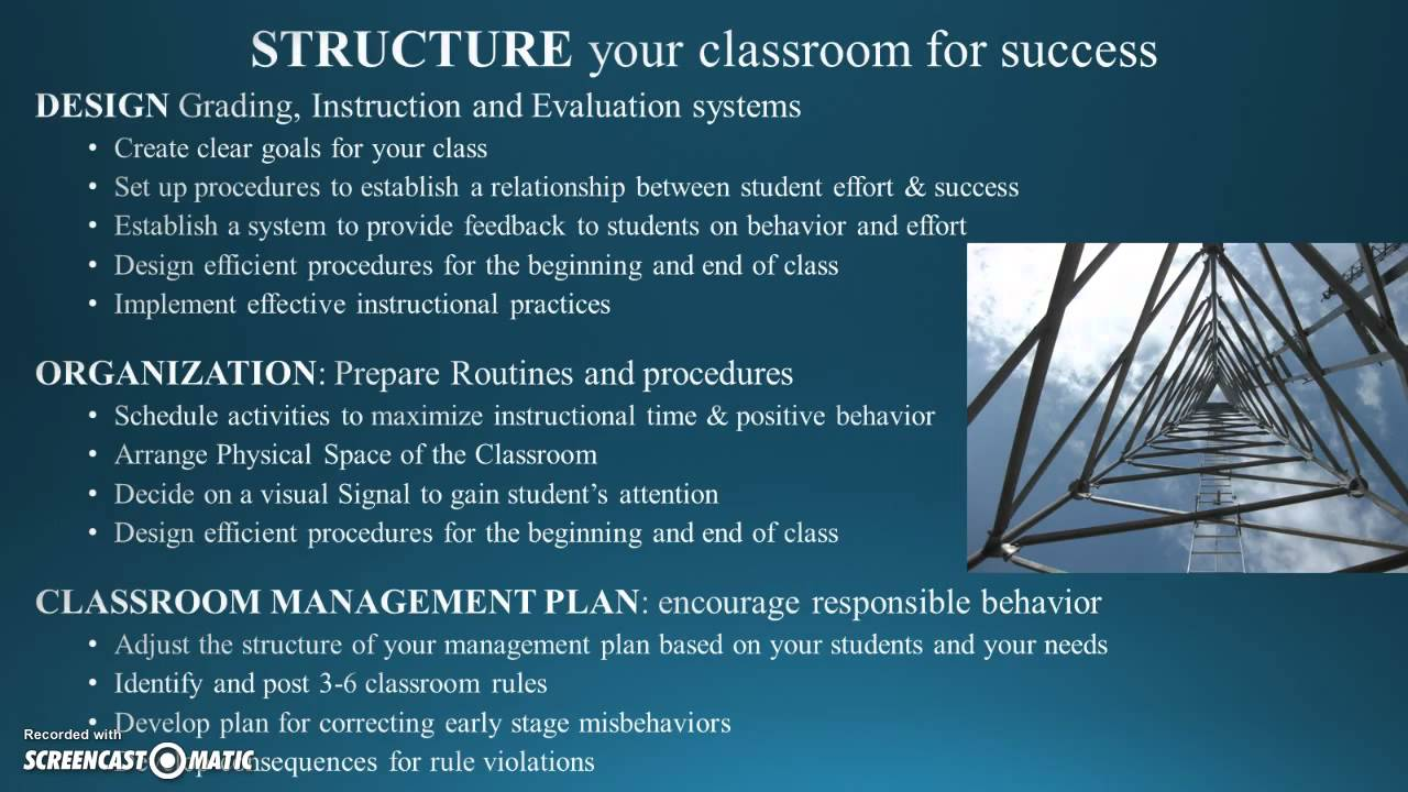 Discipline In The Secondary Classroom Youtube