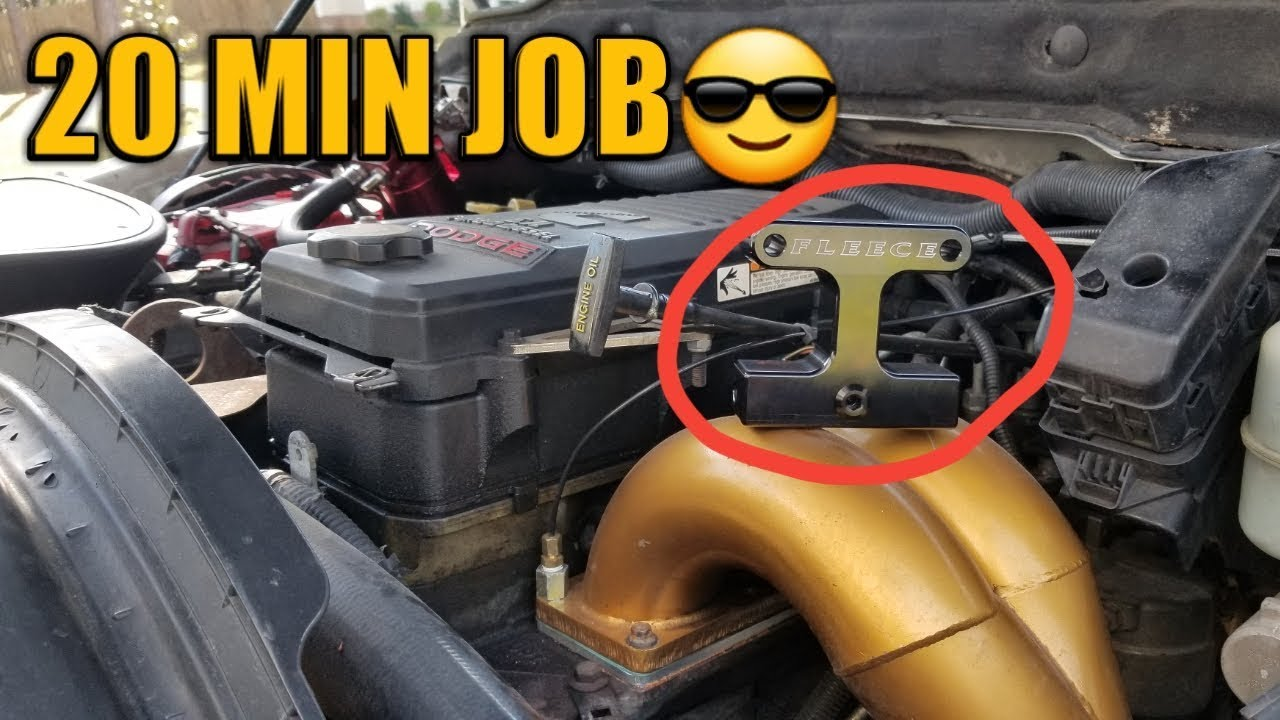 How To Delete Fuel Filter On 6.7 MINS - YouTube