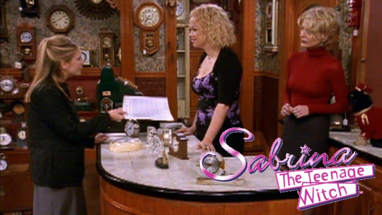 Sabrina the Teenage Witch Little Orphan Hilda Episode S04E04