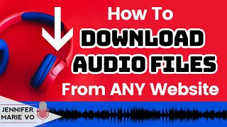 How to Download Audio or Video Files From ANY Website or Browser: Transcription Tools and Tricks