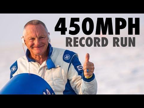 Danny Thompson's 450mph Speed Week Record Run