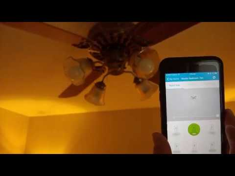 HomeDepot Zigbee Combo Ceiling Fan/Light Controller on SmartThings