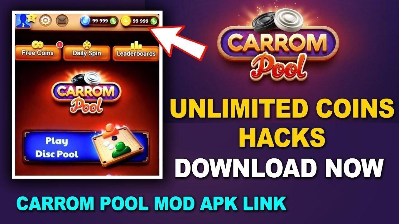 Carrom Pool Mod Disc Pool Mod Mod Hacker Hacked Long Line Mod V