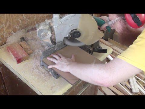 Building an ITG2 dance pad replica - episode 2: Woodcutting