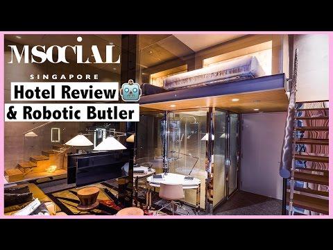 M Social Singapore Hotel & Robotic Butler Review   AskAshley