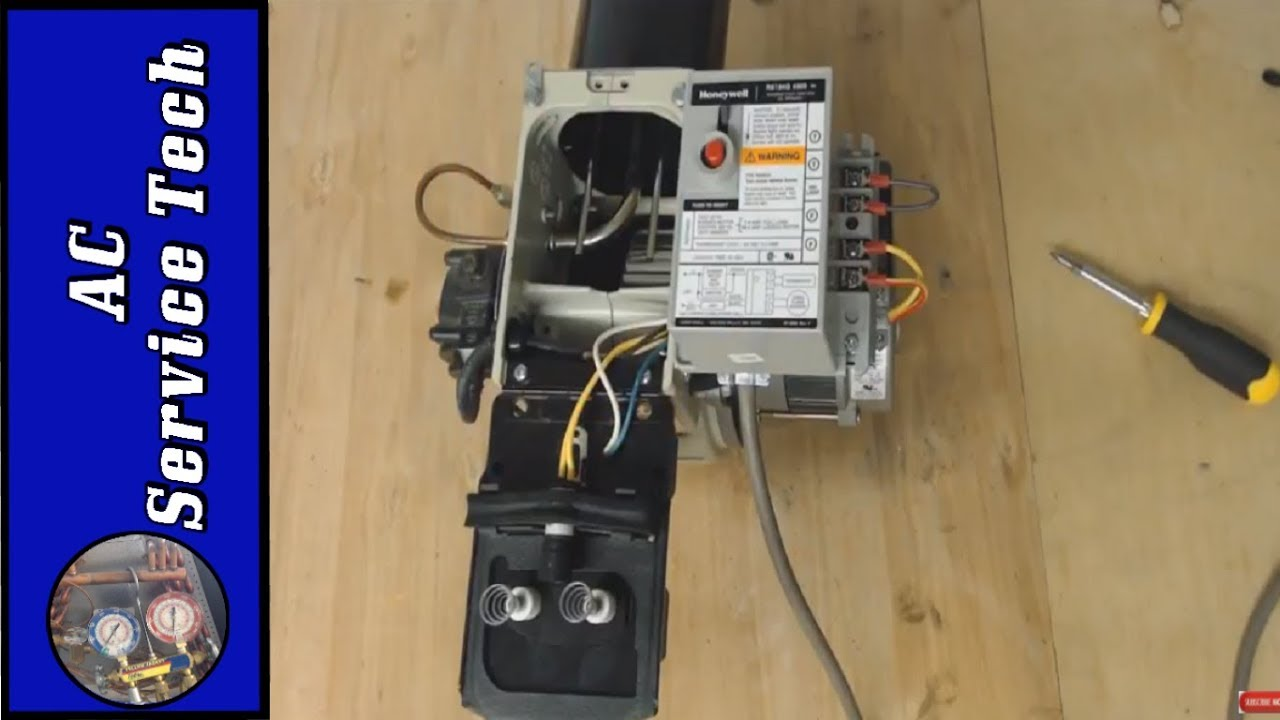 oil burner ignition transformer and electrode troubleshooting  [ 1280 x 720 Pixel ]
