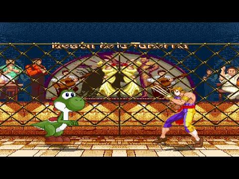 ADD004 MUGEN: Yoshi (Me) Vs Vega (Claw)