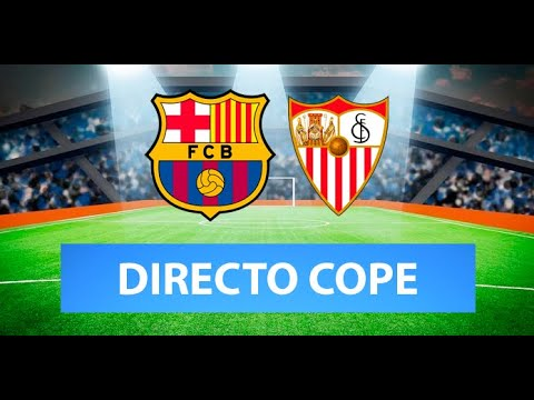 (SOLO AUDIO) Directo del Barcelona 3-0 Sevilla en Tiempo de Juego COPE
