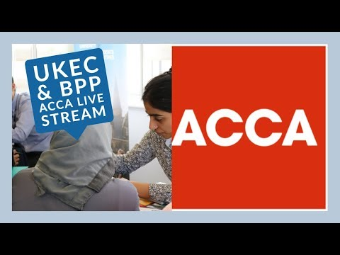 Live Stream: ACCA And How To Apply With BPP University