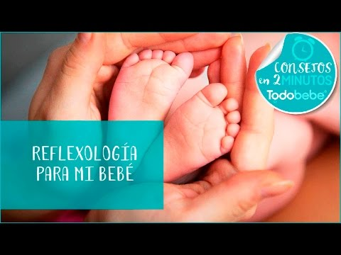 Reflexología para tu bebé