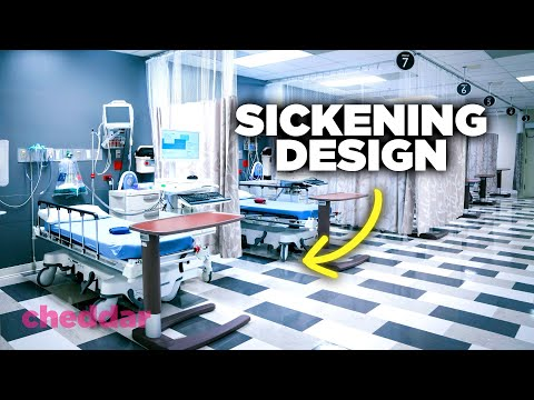 How Hospital Design Is Actually Making Us Sicker - Cheddar Explains
